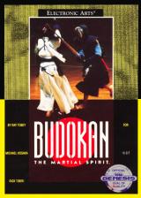 Budokan - The Martial Spirit Sega Genesis cover artwork