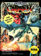 Cadash Sega Genesis cover artwork