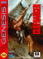 Cliffhanger Sega Genesis cover artwork