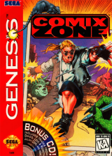 Comix Zone Sega Genesis cover artwork