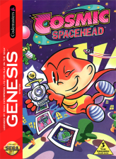 Cosmic Spacehead Sega Genesis cover artwork