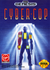Cyber-Cop Sega Genesis cover artwork