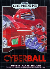 CyberBall Sega Genesis cover artwork
