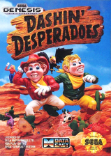Dashin' Desperadoes Sega Genesis cover artwork