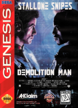 Demolition Man Sega Genesis cover artwork