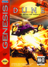 Dune - The Battle for Arrakis Sega Genesis cover artwork