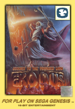 Exodus - Journey to the Promised Land Sega Genesis cover artwork