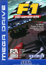 F1 - World Championship Edition Sega Genesis cover artwork