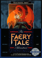 Faery Tale Adventure, The Sega Genesis cover artwork