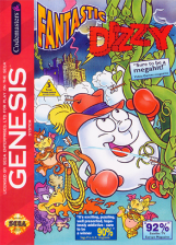 Fantastic Dizzy Sega Genesis cover artwork