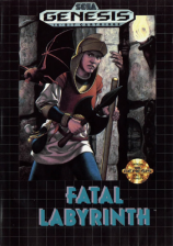 Fatal Labyrinth Sega Genesis cover artwork