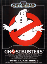 Ghostbusters Sega Genesis cover artwork