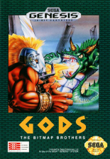 Gods Sega Genesis cover artwork