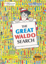 Great Waldo Search, The Sega Genesis cover artwork