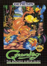 Greendog - The Beached Surfer Dude! Sega Genesis cover artwork