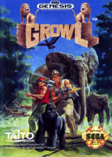 Growl Sega Genesis cover artwork