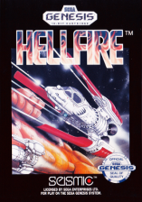 Hellfire Sega Genesis cover artwork