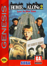 Home Alone 2 - Lost in New York Sega Genesis cover artwork