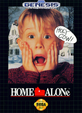 Home Alone Sega Genesis cover artwork