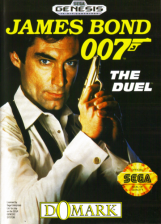 James Bond 007 - The Duel Sega Genesis cover artwork