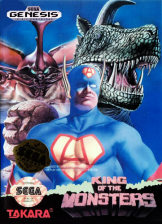 King of the Monsters Sega Genesis cover artwork