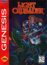 Light Crusader Sega Genesis cover artwork