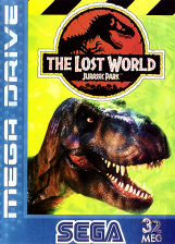 Jurassic Park - The Lost World Sega Genesis cover artwork
