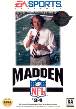 Madden NFL '94 Sega Genesis cover artwork