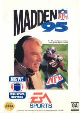 Madden NFL 95 Sega Genesis cover artwork