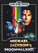 Michael Jackson's Moonwalker Sega Genesis cover artwork