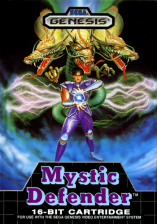Mystic Defender Sega Genesis cover artwork