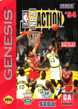 NBA Action '94 Sega Genesis cover artwork