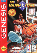 NBA Hang Time Sega Genesis cover artwork