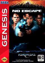 No Escape Sega Genesis cover artwork