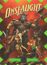 Onslaught Sega Genesis cover artwork
