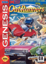 OutRunners Sega Genesis cover artwork
