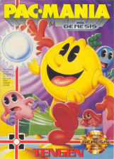 Pac-Mania Sega Genesis cover artwork