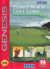 Pebble Beach Golf Links Sega Genesis cover artwork