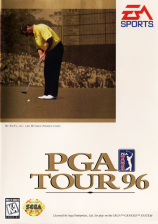 PGA Tour 96 Sega Genesis cover artwork