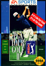 PGA Tour Golf II Sega Genesis cover artwork