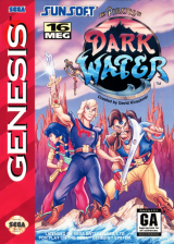 Pirates of Dark Water, The Sega Genesis cover artwork