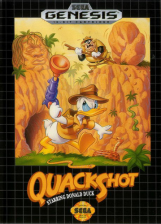 QuackShot Starring Donald Duck Sega Genesis cover artwork