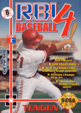 R.B.I. Baseball 4 Sega Genesis cover artwork