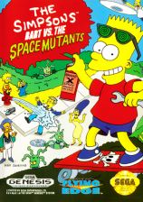 Simpsons, The - Bart vs. The Space Mutants Sega Genesis cover artwork