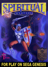Spiritual Warfare Sega Genesis cover artwork