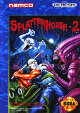 Splatterhouse 2 Sega Genesis cover artwork
