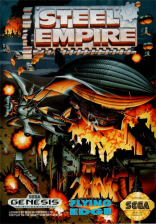 Steel Empire Sega Genesis cover artwork