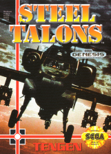 Steel Talons Sega Genesis cover artwork