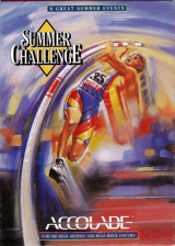 Summer Challenge Sega Genesis cover artwork
