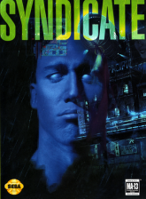 Syndicate Sega Genesis cover artwork